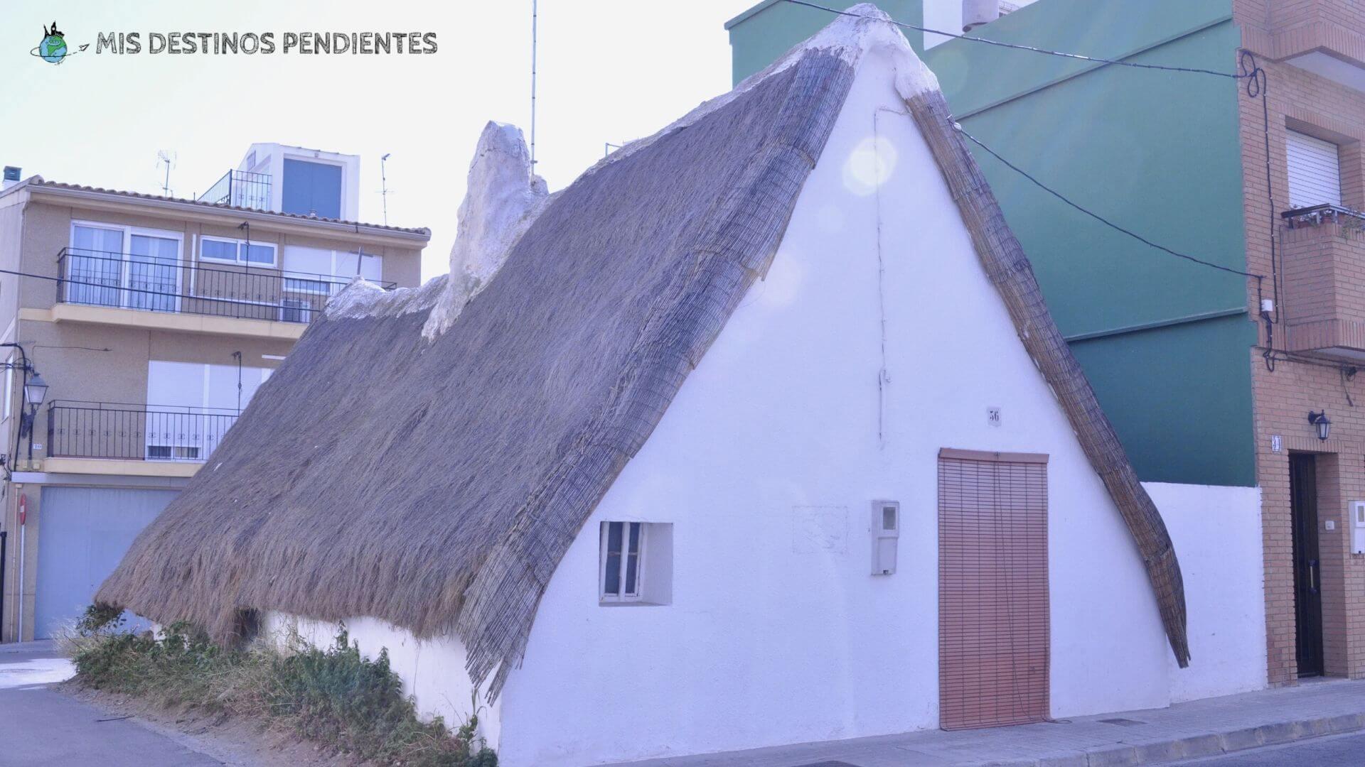 Barraca en El Palmar (Valencia, España)