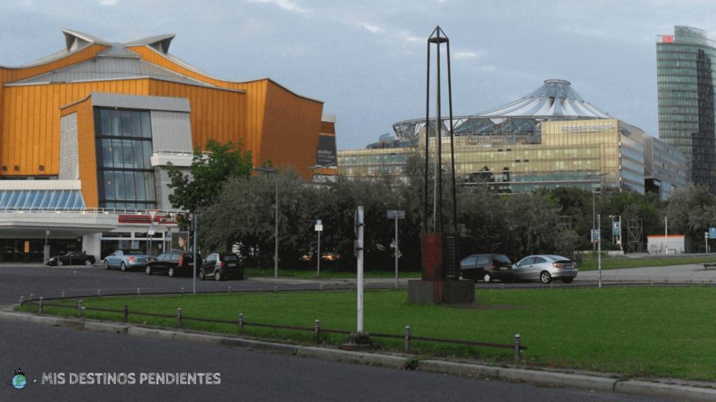 Filarmónica de Berlín y Sony Center (Berlín, Alemania)