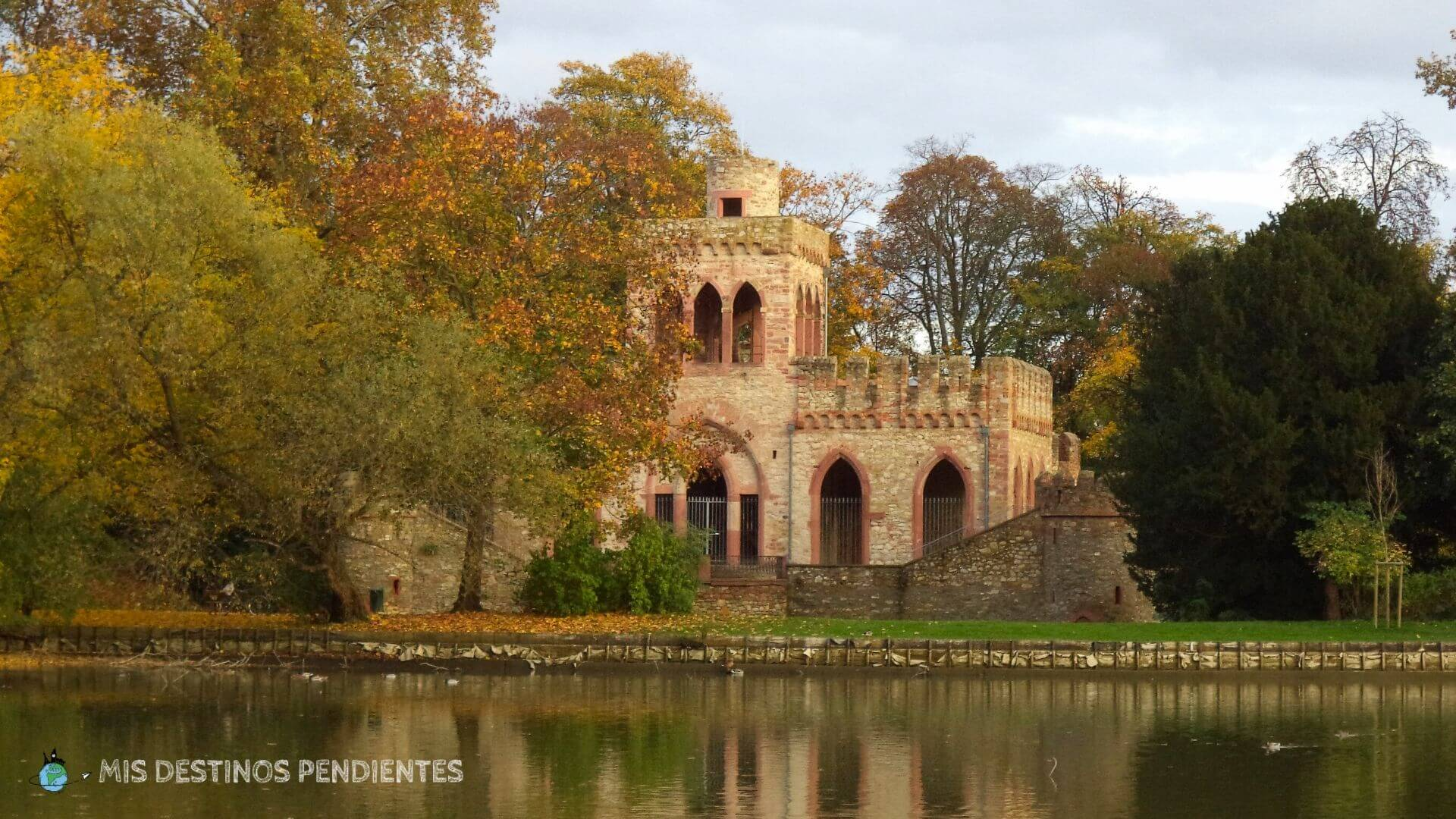 Jardines de Biebrich (Wiesbaden, Alemania)