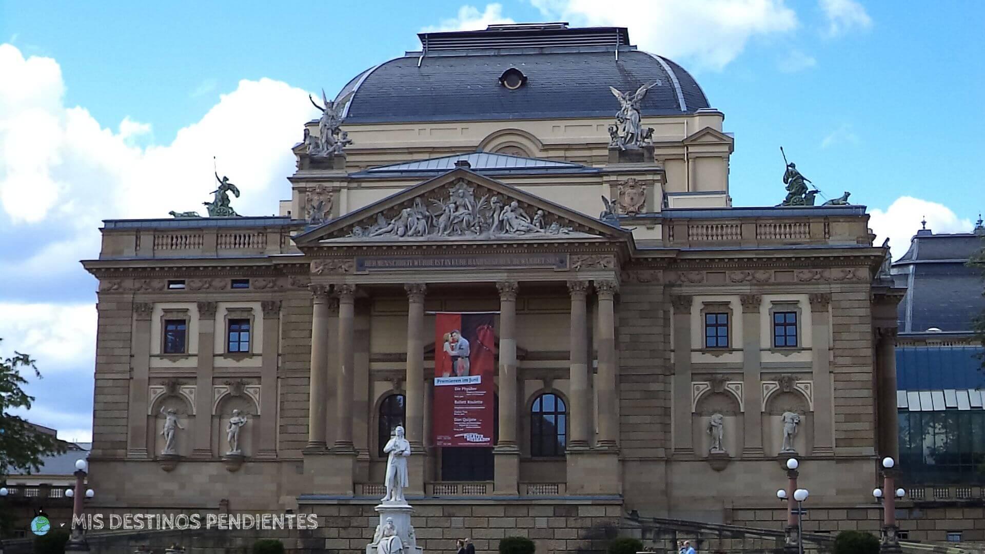 Teatro de Hessen (Wiesbaden, Alemania)