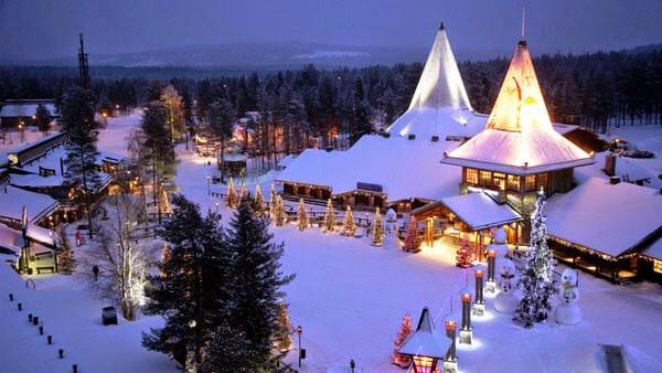 Visita a Papá Noel en Rovaniemi. ¡Feliz Navidad!