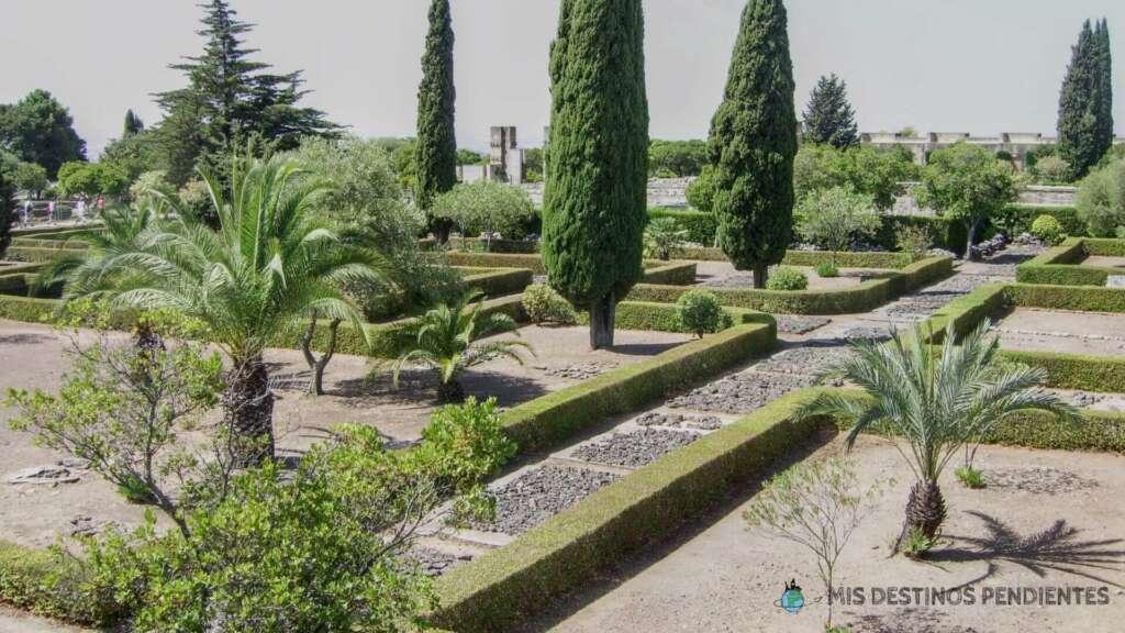 Jardines de Medina Azahara (Córdoba, España)