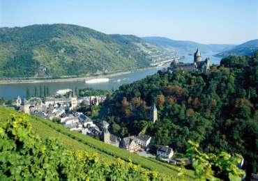 Paseo por el Rin: Bacharach