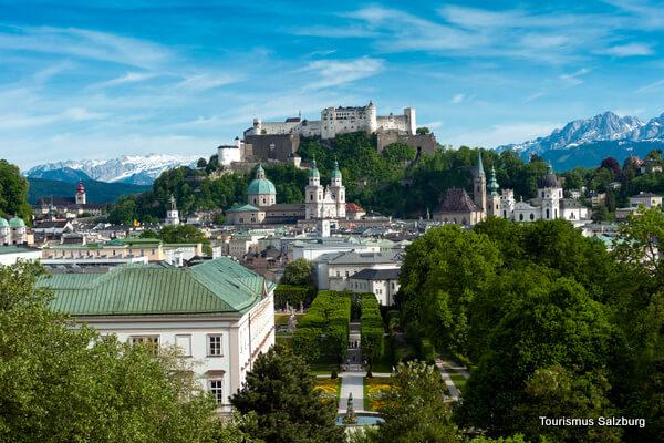 Salzburgo – Fortaleza de Hohensalzburg y Abadía de San Pedro