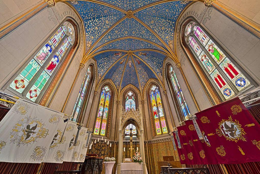 Capilla de Cristo en el Castillo Hohenzollern (Bisingen, Alemania) - Fuente: Schwarzwaldplus