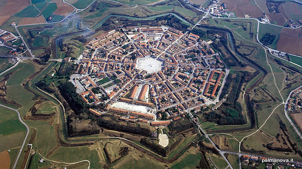 Palmanova – La ciudad en estrella perfecta (Italia)