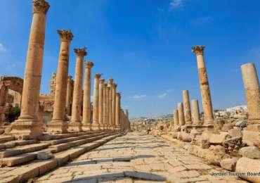 Jerash – Cardo Maximus y Decumano Norte
