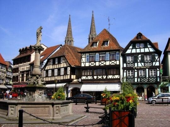 Recorriendo Alsacia: Obernai