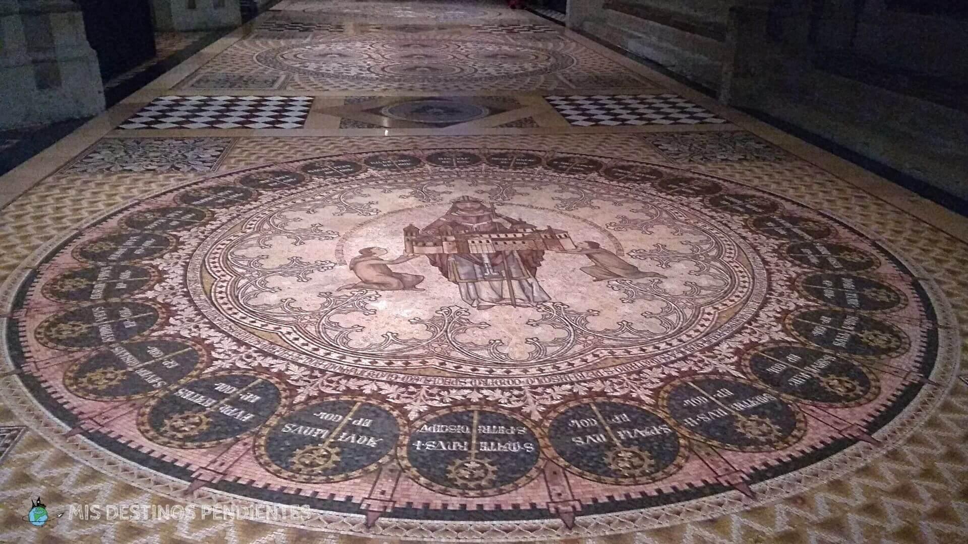 Mosaico de la Catedral de Colonia (Alemania)