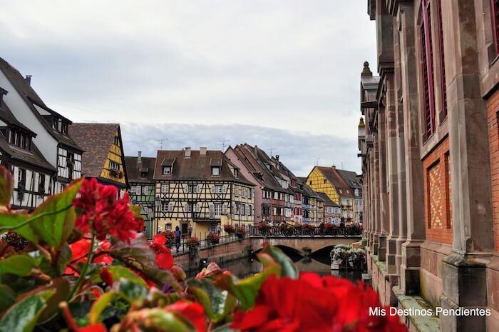 Pequeña Venecia de Colmar (Alsacia, Francia)