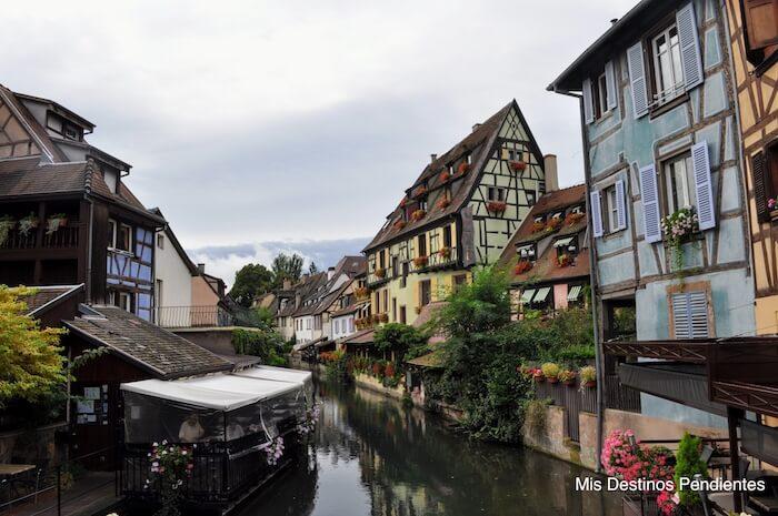 Quai de la Poissonnerie de Colmar (Alsacia, Francia)
