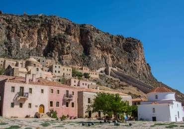 Fortaleza de Monemvasía: La ciudad amurallada congelada en el tiempo