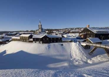 Røros: Así es un pueblo minero en Noruega