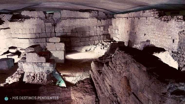 Los restos romanos de Colonia