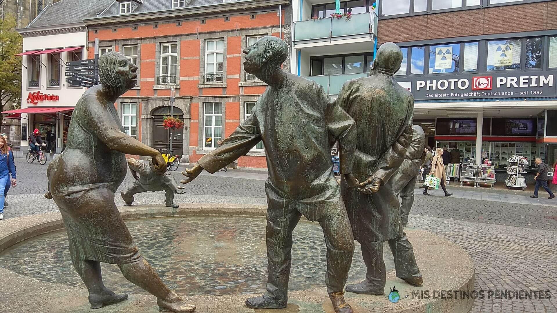 Kreislauf des Geldes (Aquisgrán, Alemania)