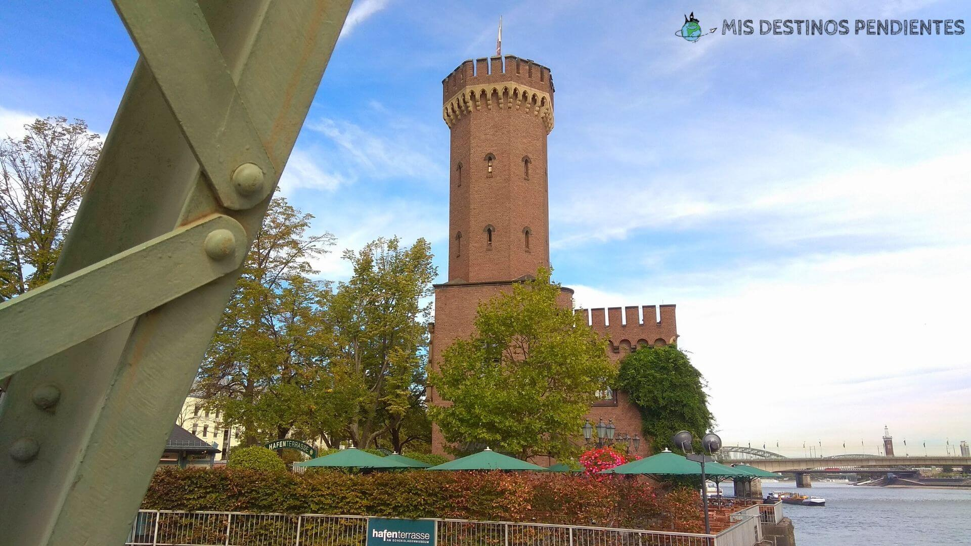 Malakoffturm y Drehbrücke (Colonia, Alemania)