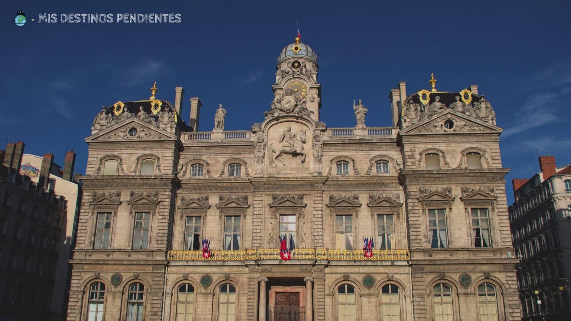 Ayuntamiento de Lyon (Francia)