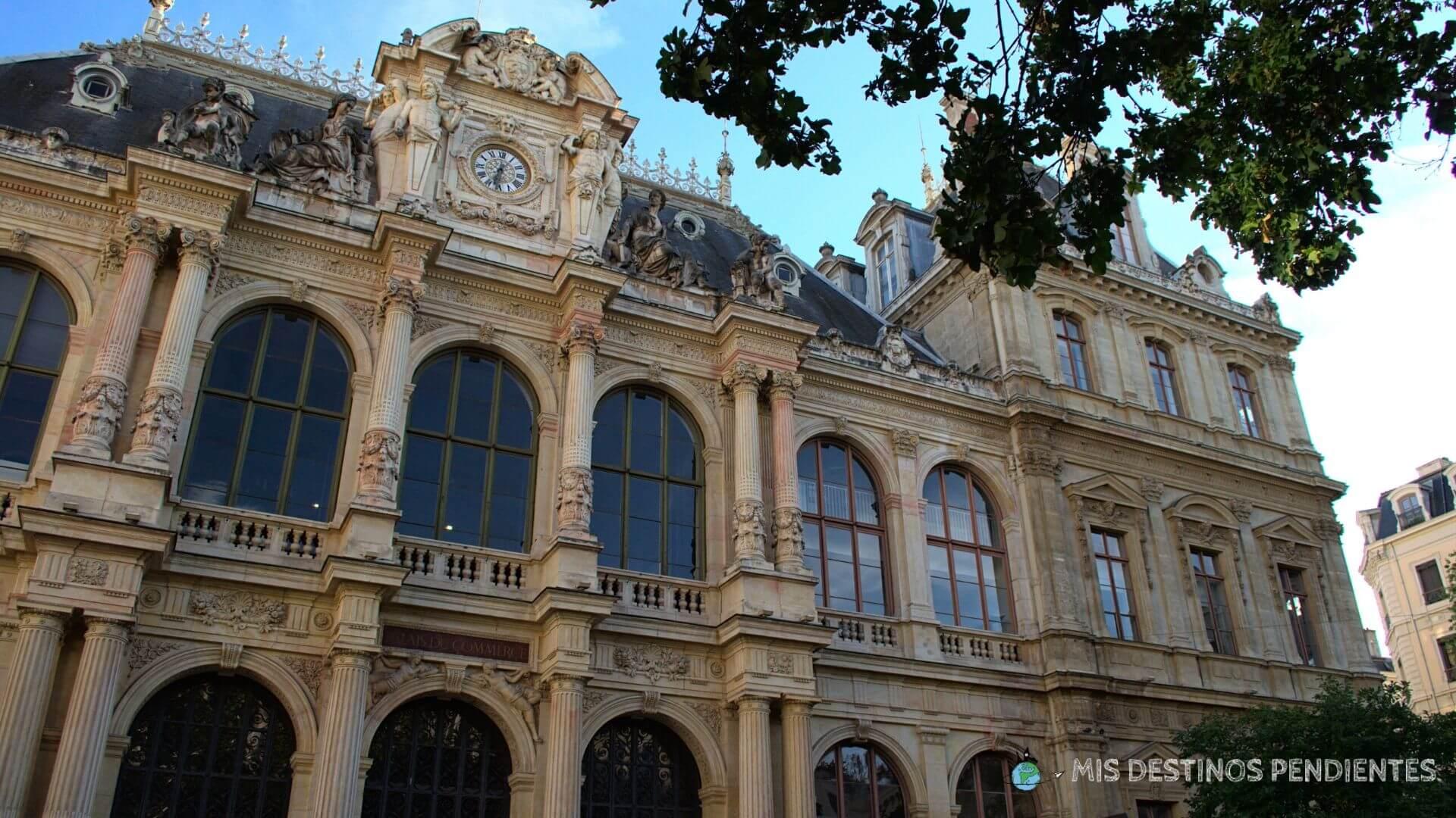 Palacio de la Bolsa (Lyon, Francia)