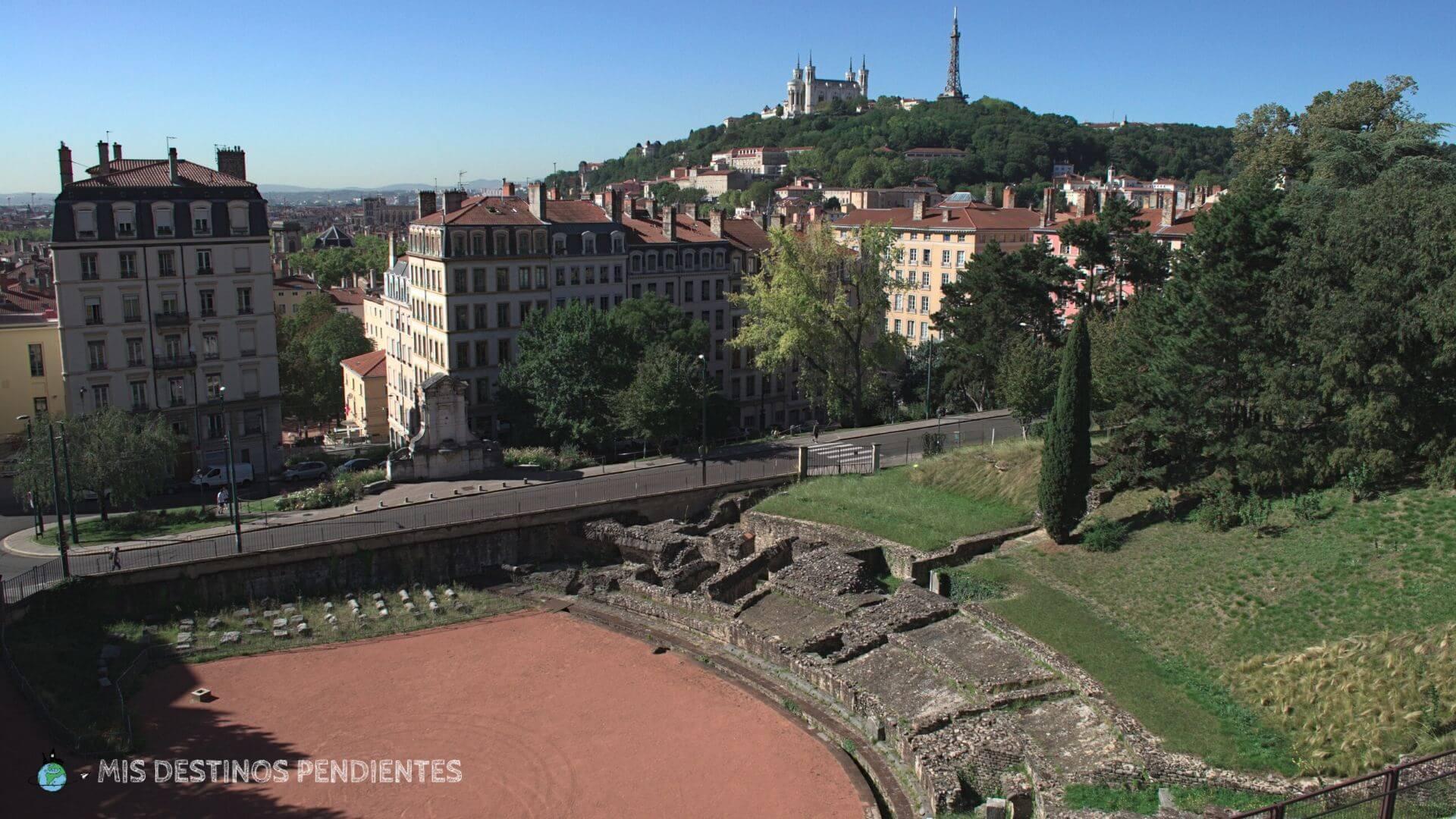 Anfiteatro de las Galias (Lyon, Francia)