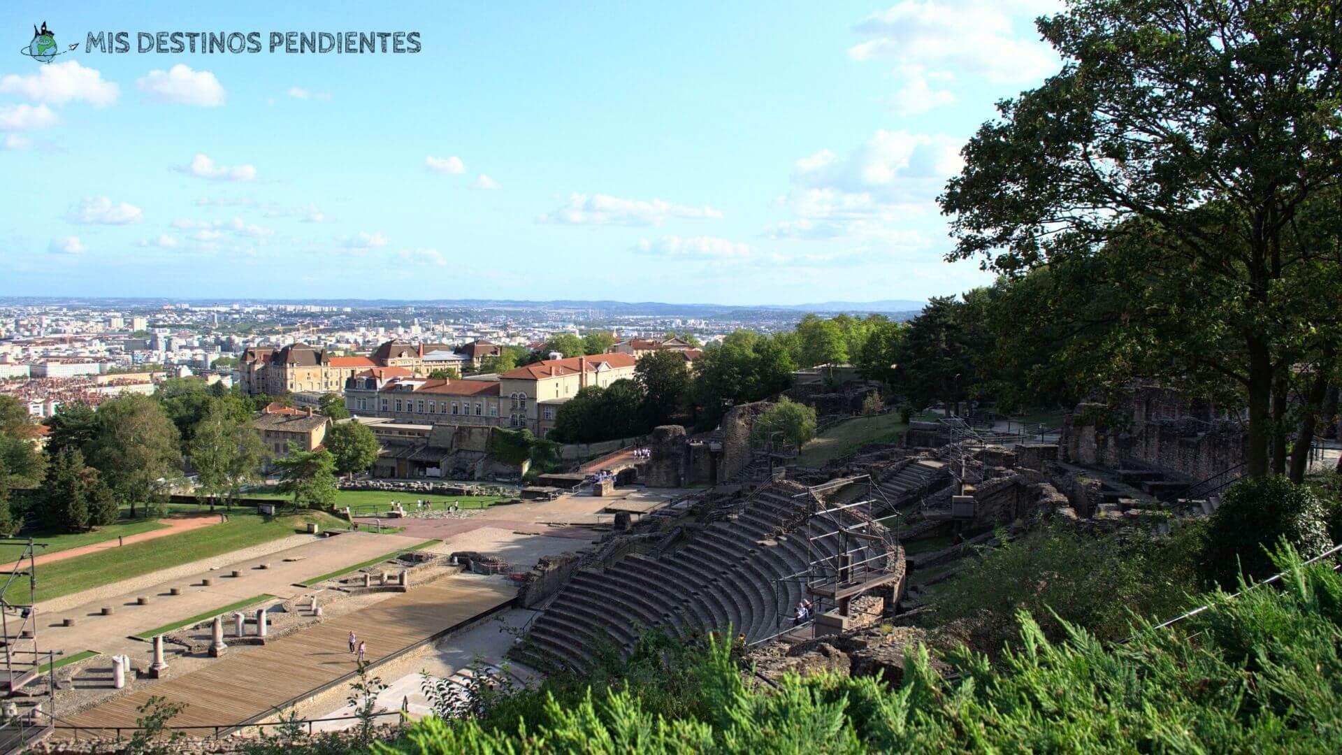 Teatro romano de Lyon (Francia)