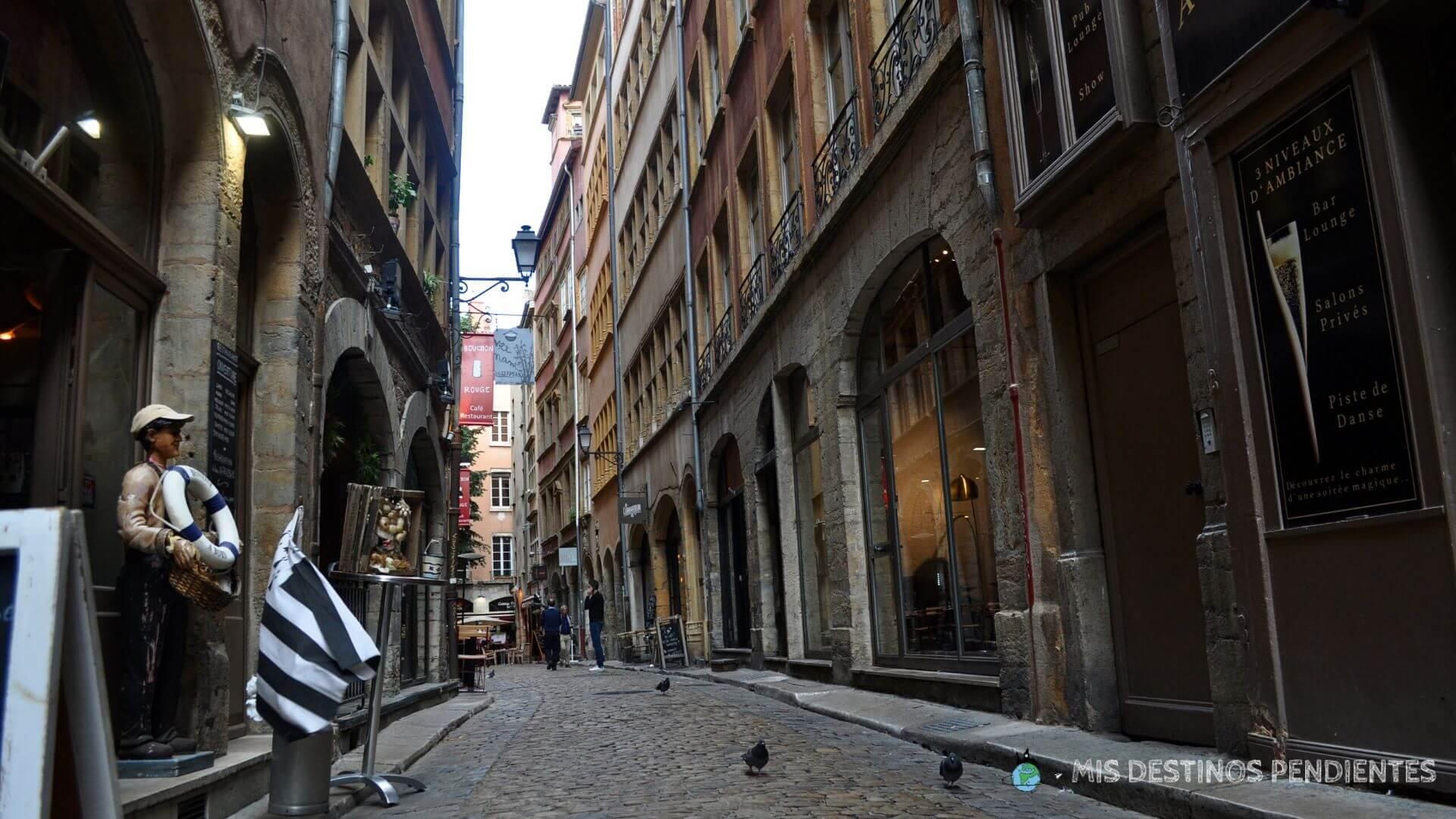 Calle del Viejo Lyon (Francia)