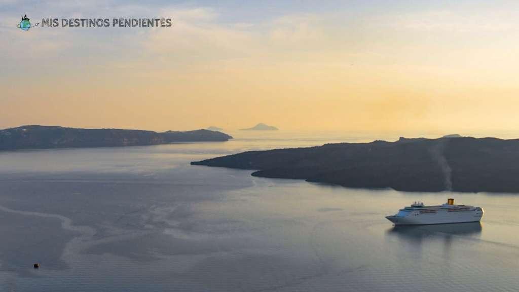 Puesta de Sol en Santorini (Islas Cícladas, Grecia)