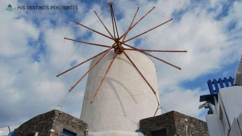 Molino de Santorini (Islas Cícladas, Grecia)