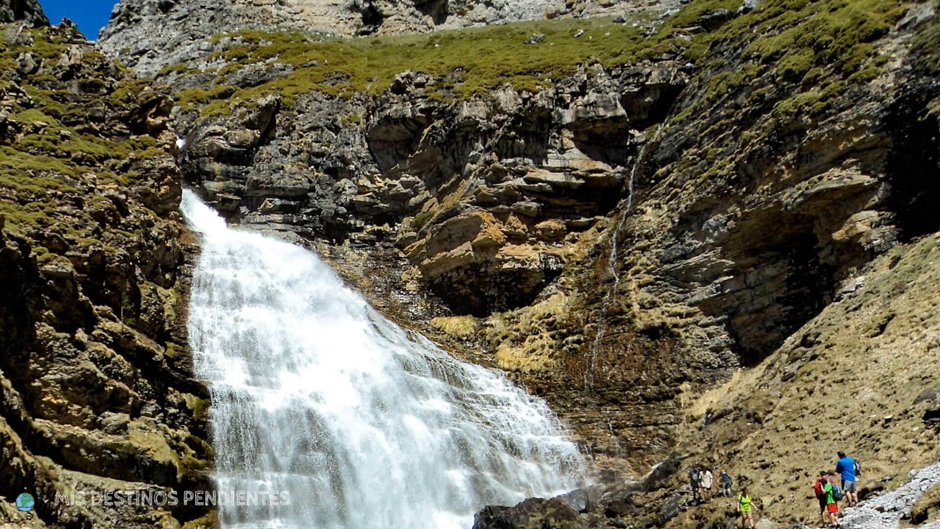 Cascada Cola de Caballo (Ordesa y Monte Perdido, Huesca)