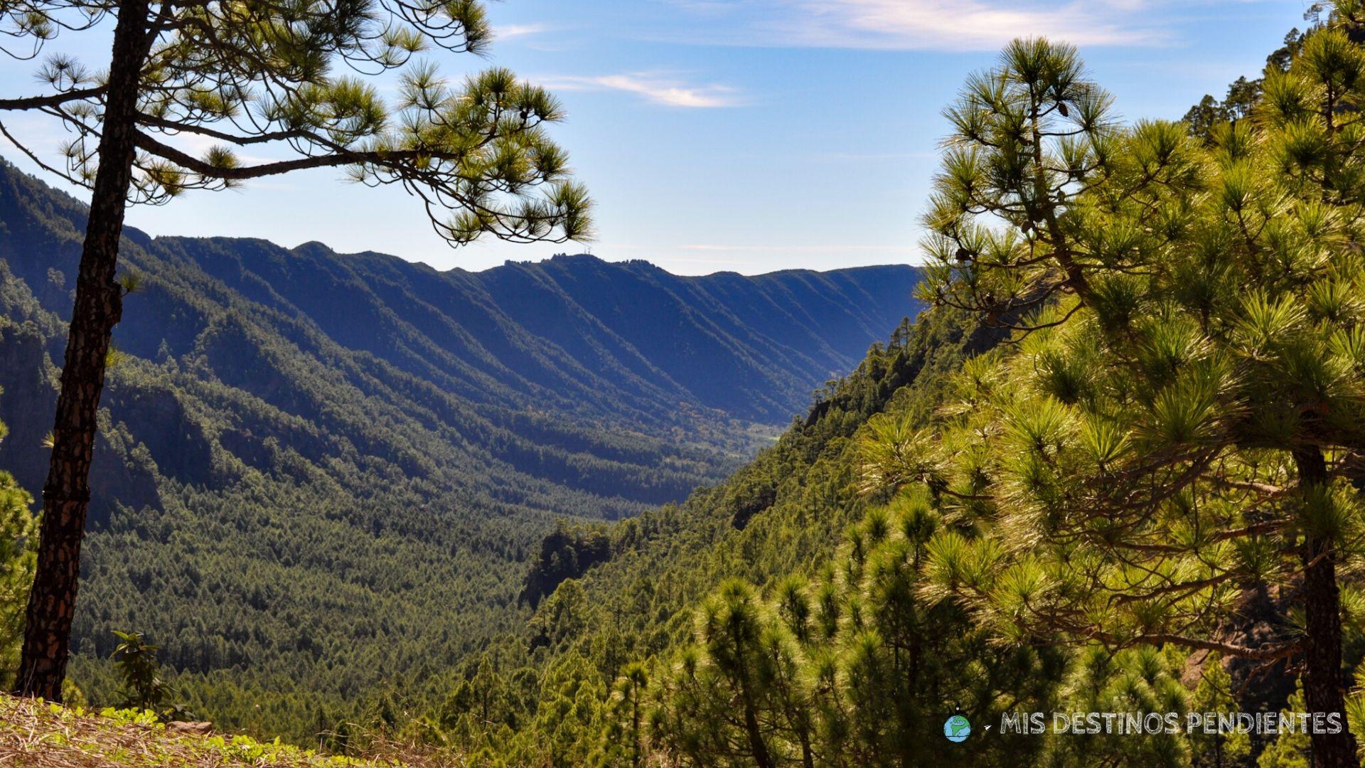 Parque Nacional de la Caldera de Taburiente (La Palma, España)