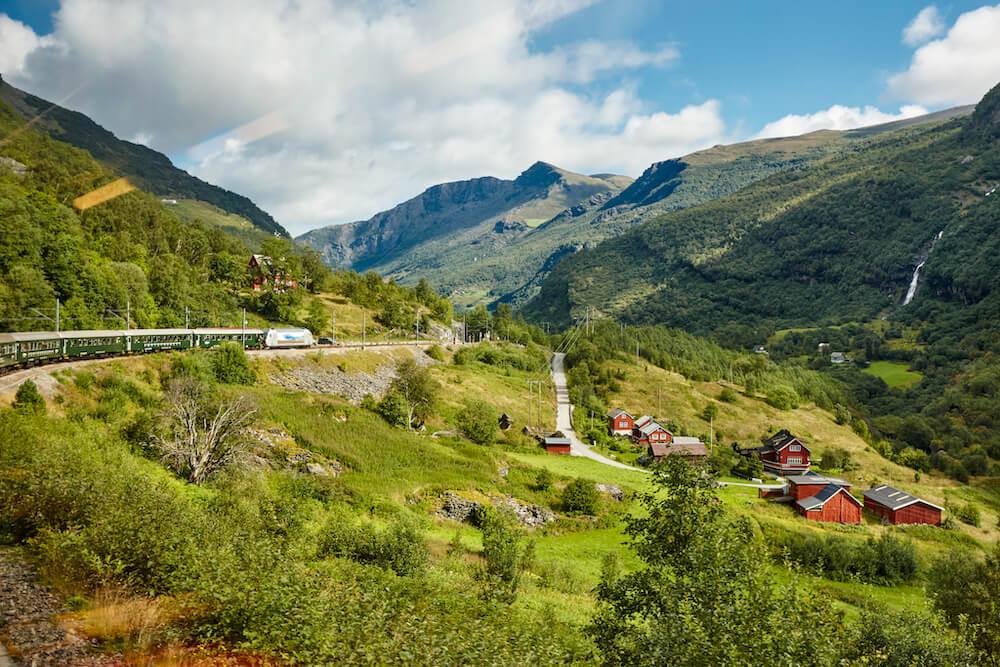 Viajar de forma sostenible en tren