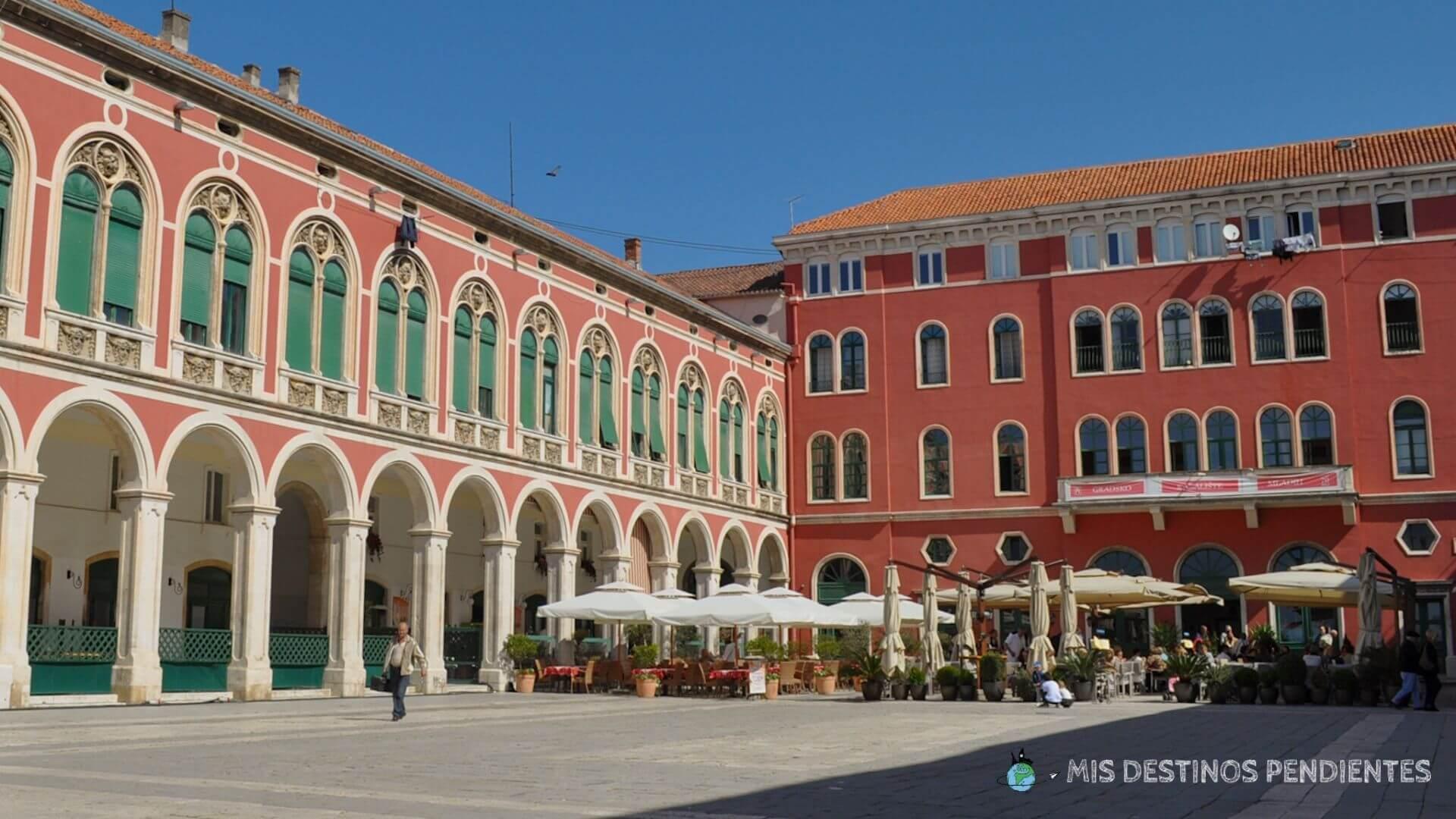 Plaza de la República (Split, Croacia)