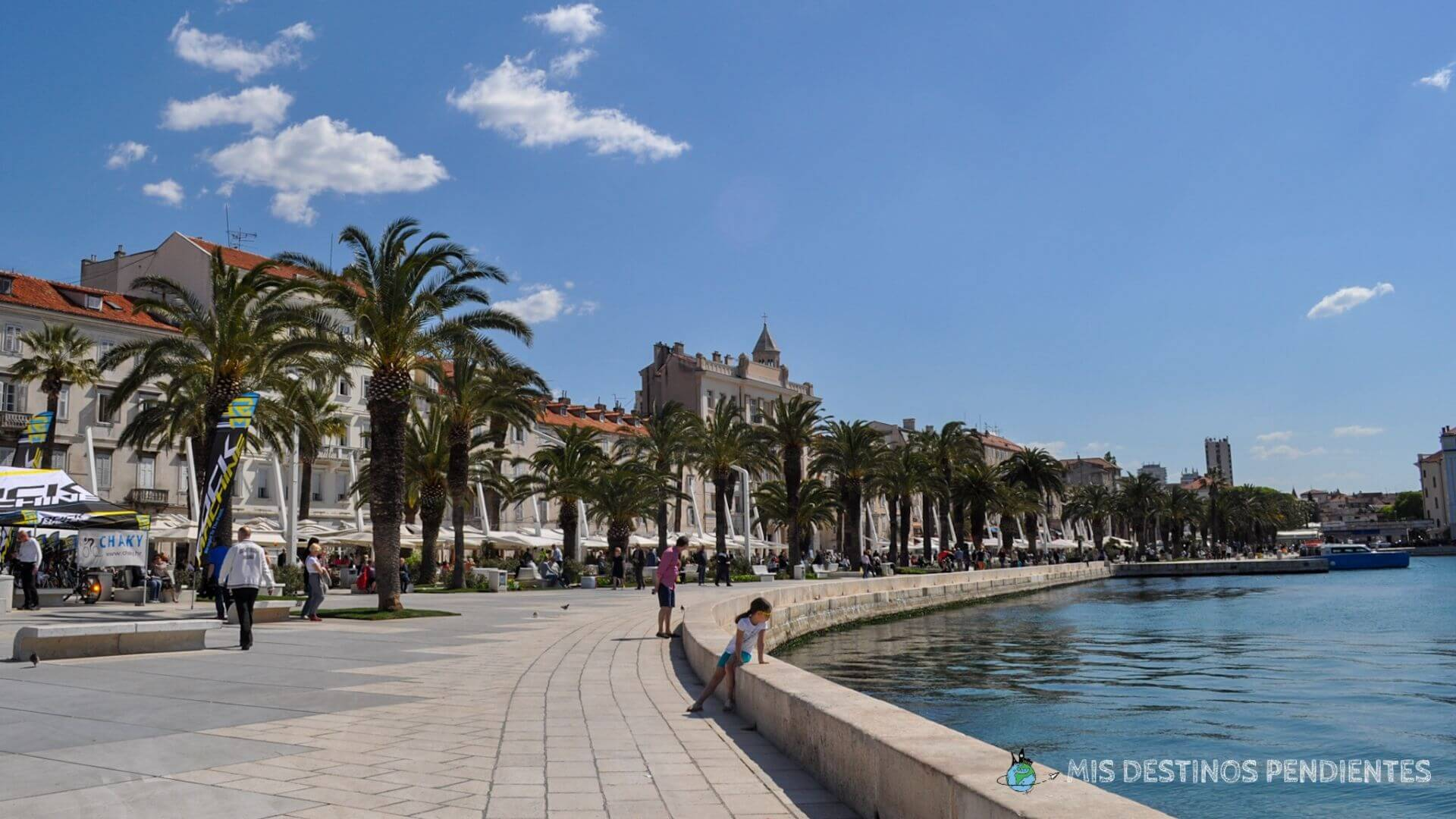 Riva de Split (Croacia)