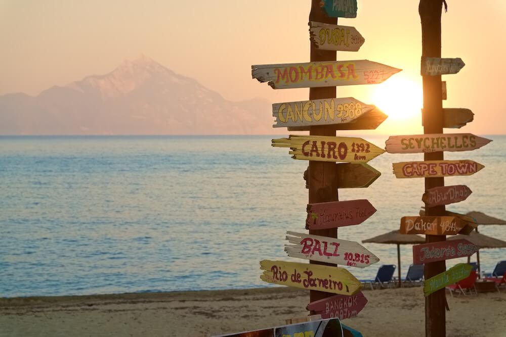 Reflexiona para viajar de forma más sostenible