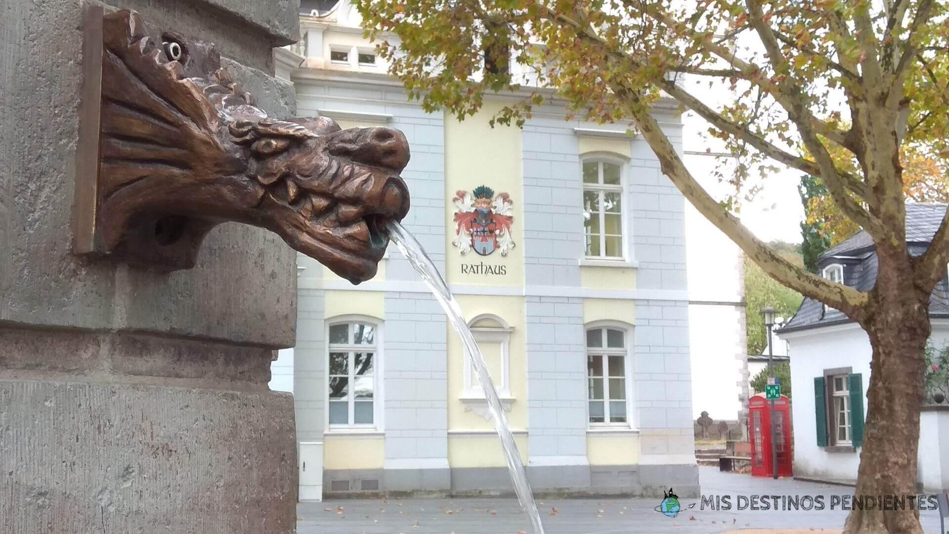 Plaza del Ayuntamiento de Königswinter (Alemania)