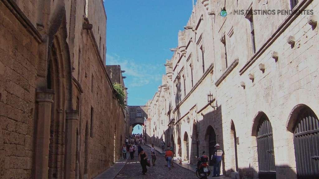 Calle de los Caballeros (Rodas, Grecia)