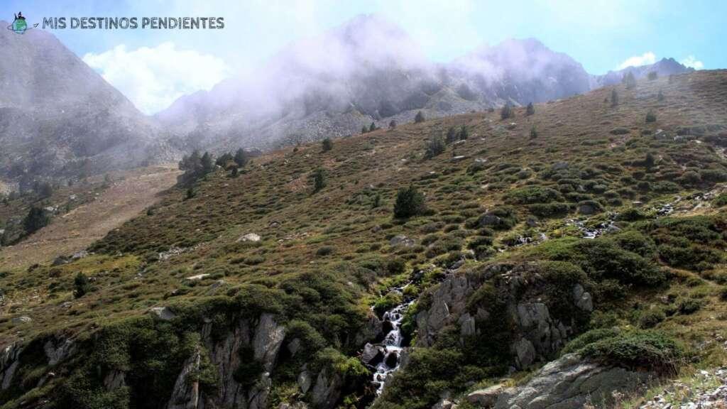 Estany de les Abelletes (Encamp, Andorra)