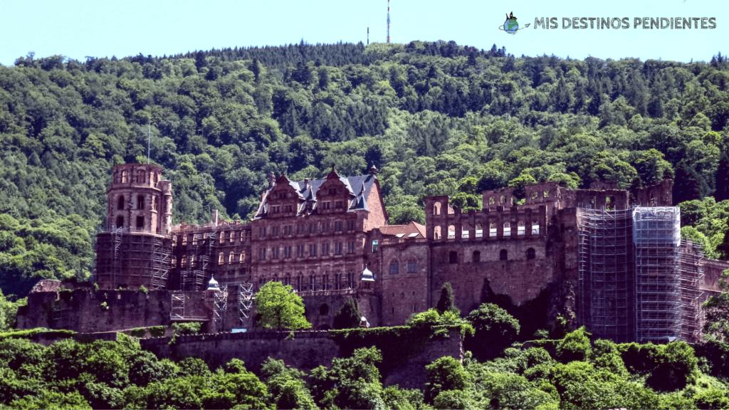 Vista general del Castillo de Heidelberg (Alemania)