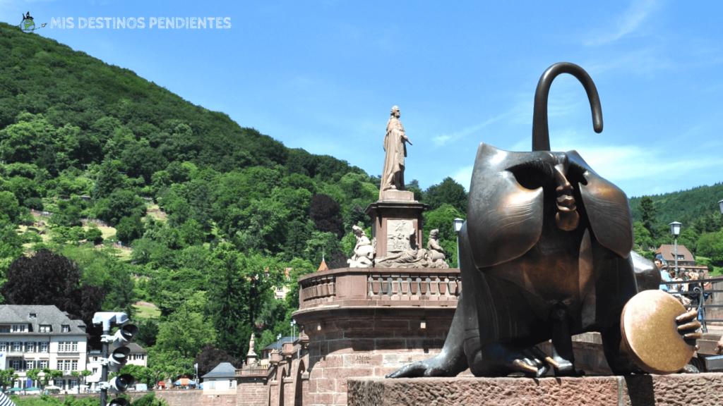 Brückenaffe (Heidelberg, Alemania)