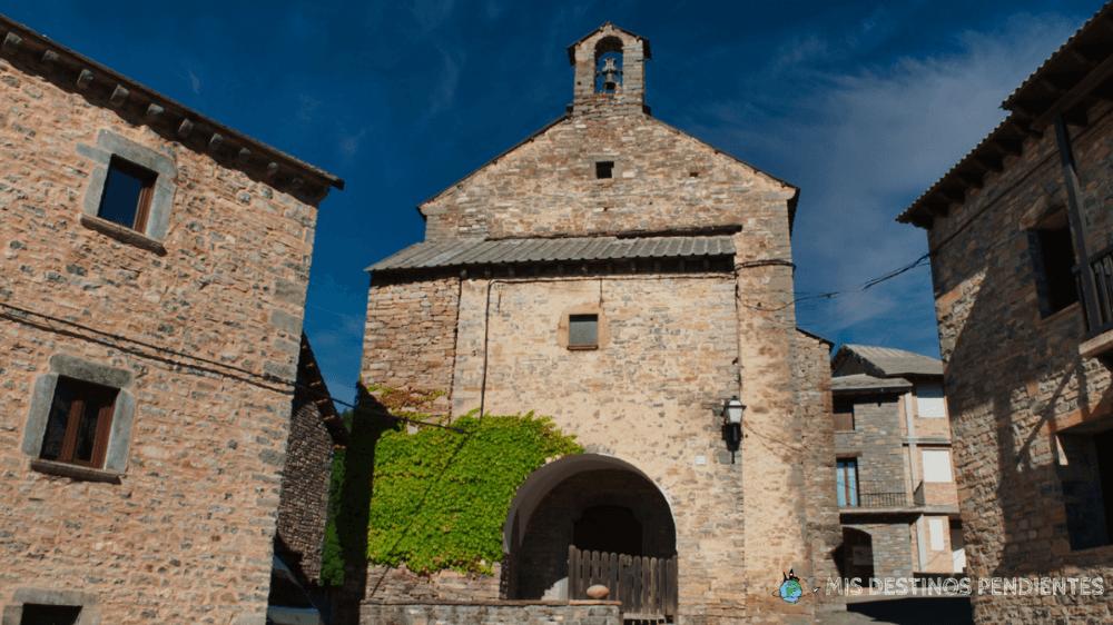 Iglesia de Nuestra Señora de los Dolores (Fanlo, España)